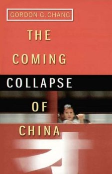 "Cover of ""Coming Collapse of China"""