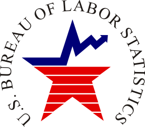 English: Bureau of Labor Statistics logo RGB c...