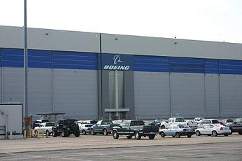 English: Boeing Plant in Wichita, Kansas. Avia...