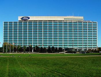 English: Ford Motor Company Headquarters, Dear...