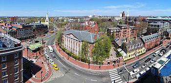 English: Harvard University Harvard Yard Harva...
