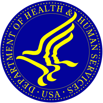 The seal of the United States Department of He...
