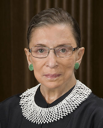 English: Ruth Bader Ginsburg, Associate Justic...