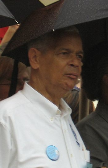 Julian Bond of the NAACP