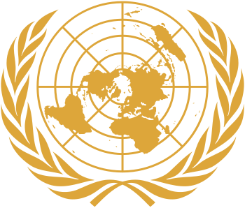 English: Emblem of the United Nations. Color i...
