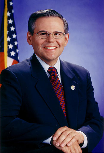 Robert Menendez, U.S. Senator from New Jersey.