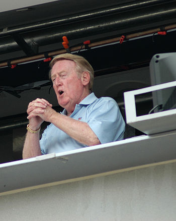 English: Vin Scully