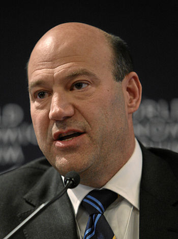 DAVOS/SWITZERLAND, 27JAN10 - Gary D. Cohn, Pre...