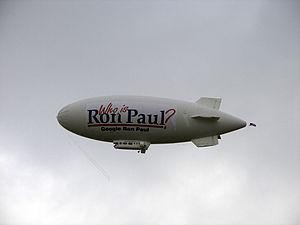 Ron Paul's blimp