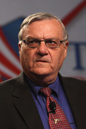 Sheriff Joe Arpaio of Maricopa County, Arizona...