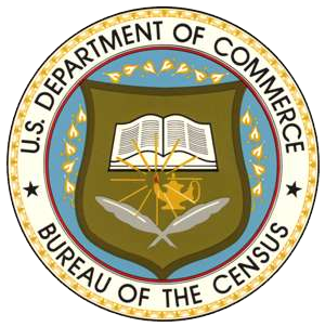 Seal of the United States Census Bureau. The b...