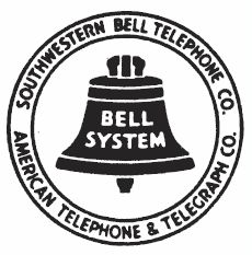 Southwestern Bell logo, 1939–1964