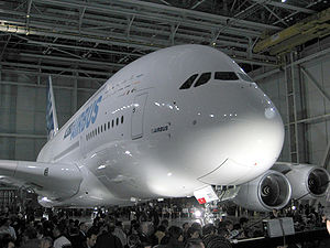 "English: Airbus A380 ""revealed"", Tou..."