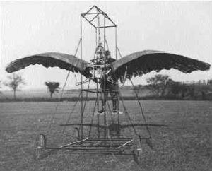 Edward Frost ornithopter
