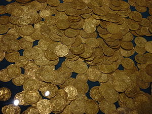 Hoard of ancient gold coins