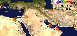 Middle East C Current