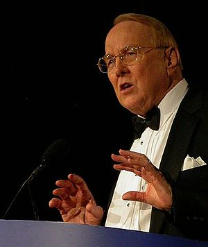 James Dobson in 2007 in Washington, DC at the ...