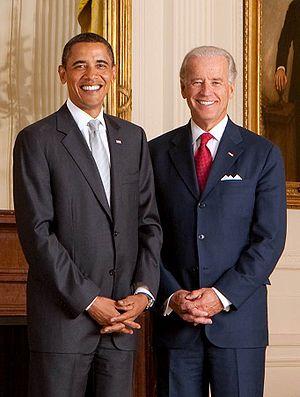 President Barack Obama and Vice President Jose...