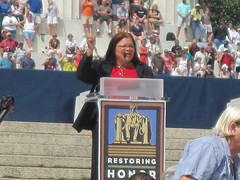 Alveda King at the Restoring Honor Rally