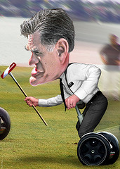 Mitt Romney - Cartoon