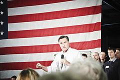 Mitt Romney at Caster Concepts