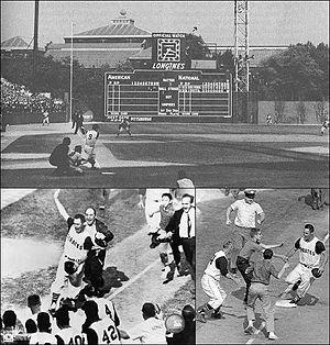 Montage of Mazeroski's 1960 World Series winni...