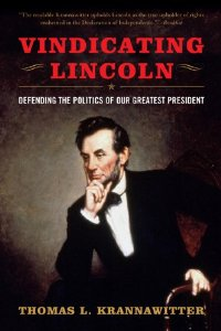 "Cover of ""Vindicating Lincoln: Defending ..."
