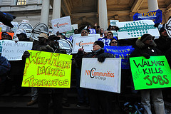 PEOPLE'S RALLY  FOR  WALMART-FREE NEW YORK CIT...