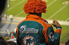 Miami Dolphins fan / Torcedor do Miami Dolphins
