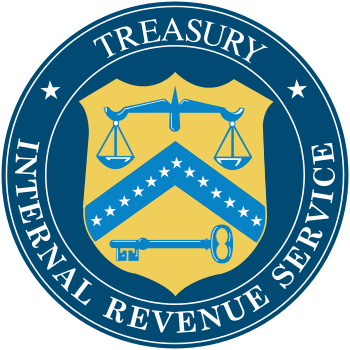 Seal of the United States Internal Revenue Ser...
