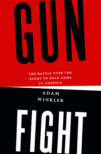English: Book cover for Gun Fight.