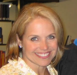 Cropped headshot of Katie Couric