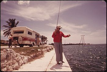 A RETIRED COUPLE FROM CALIFORNIA STOP TO FISH ...