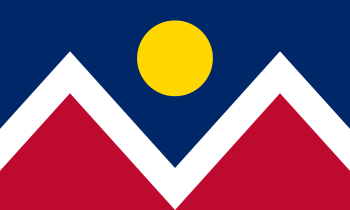 The flag of the City and County of Denver sinc...
