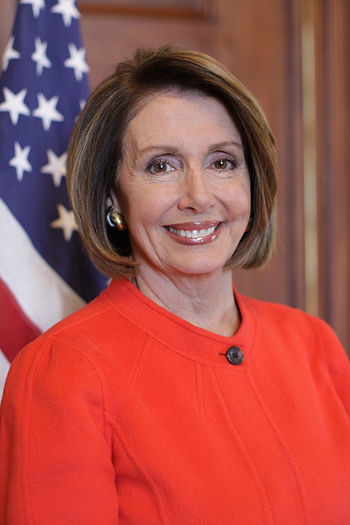 English: Nancy Pelosi photo portrait as Speake...